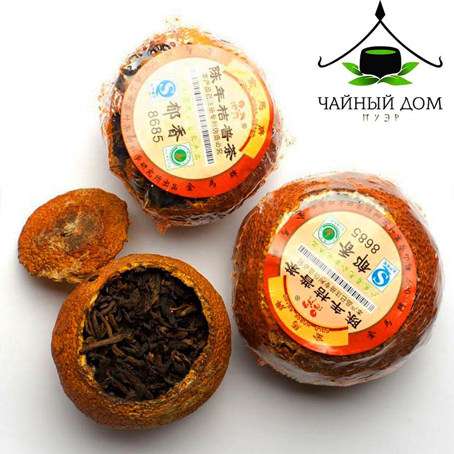Puer In Mandarin Tea