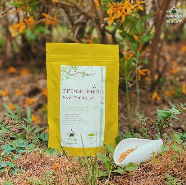 гречишный чай укрепляет организм и дает энергию