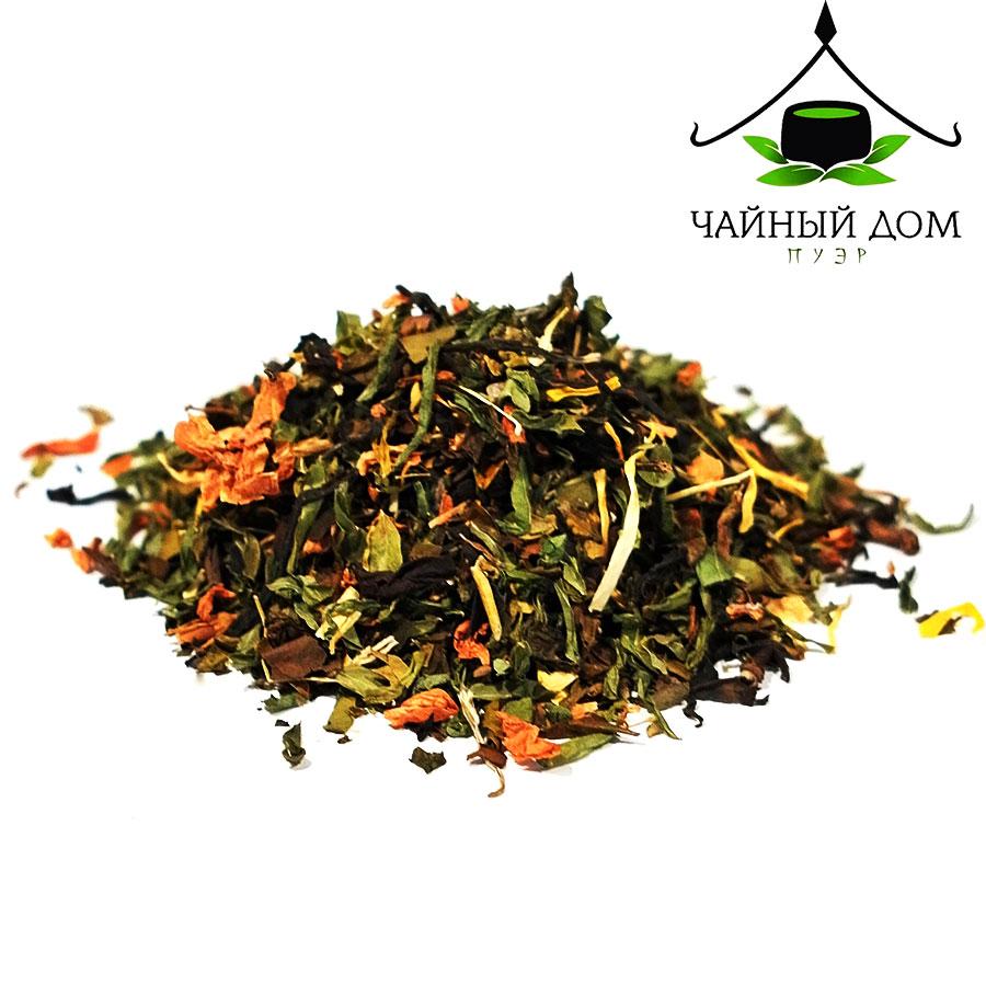 Китайский травяной чай Хей Цзынь yanggan