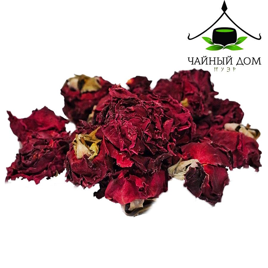 Добавка к чаю Красная роза 100г Tea House Puer Product